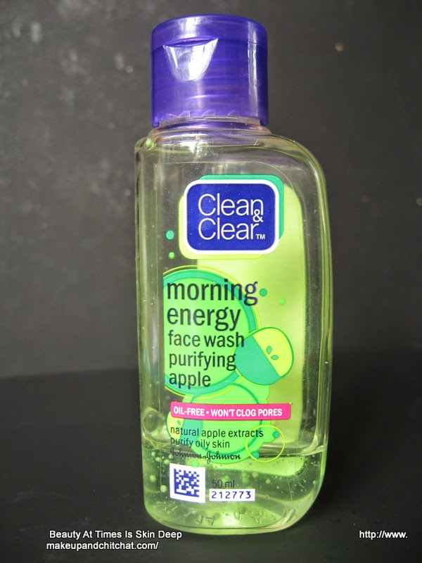 Clean n Clear Face Morning Energy Face Wash in Purifying Apple