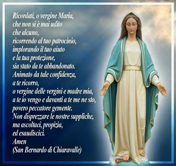 Ben noto leggoerifletto: Preghiera alla Beata Vergine dei Miracoli  YM32