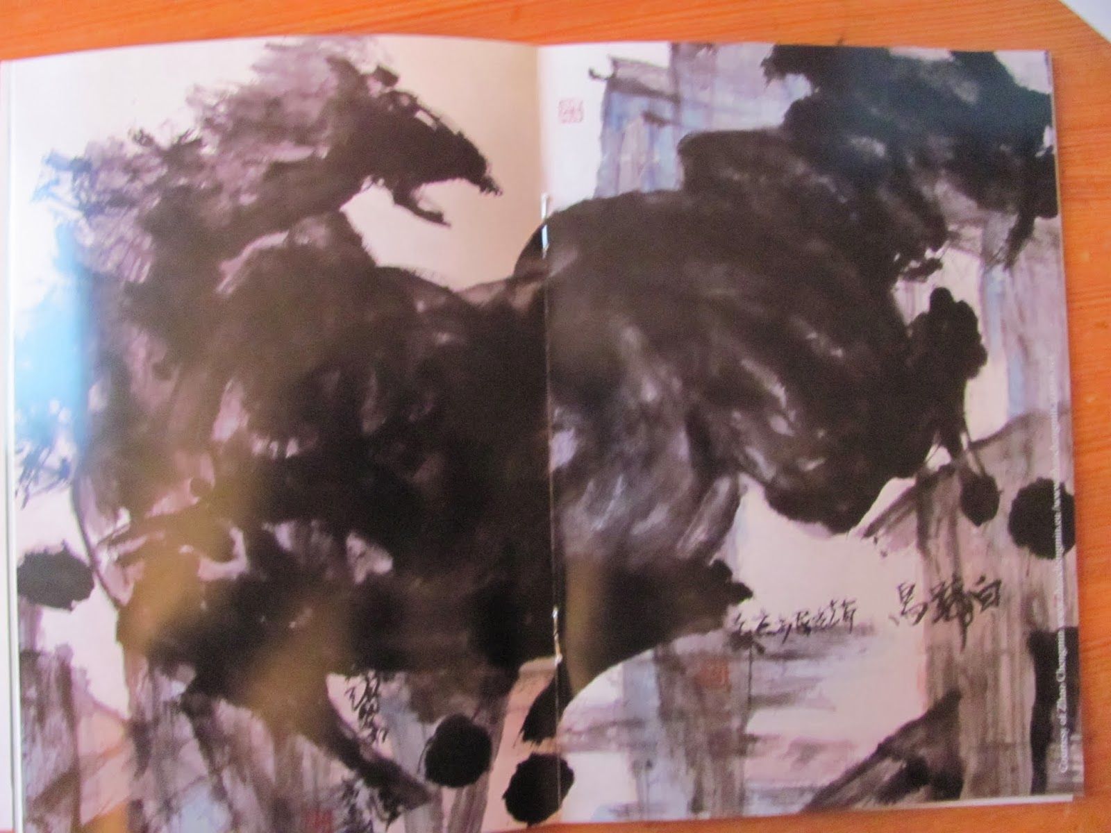 Watercolor Horse from the Program of Chinese New Year celebration in Dublin 2014