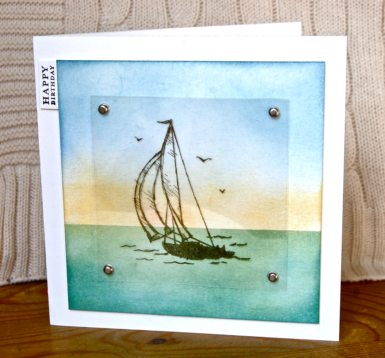 Masculine Card Making Ideas Part - 40: Stampinu0027 Up Ideas And Supplies From Vicky At Crafting Clareu0027s Paper  Moments: Masculine Monday - Using Sail Away And Acetate