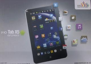 harga tablet IMO tab X5