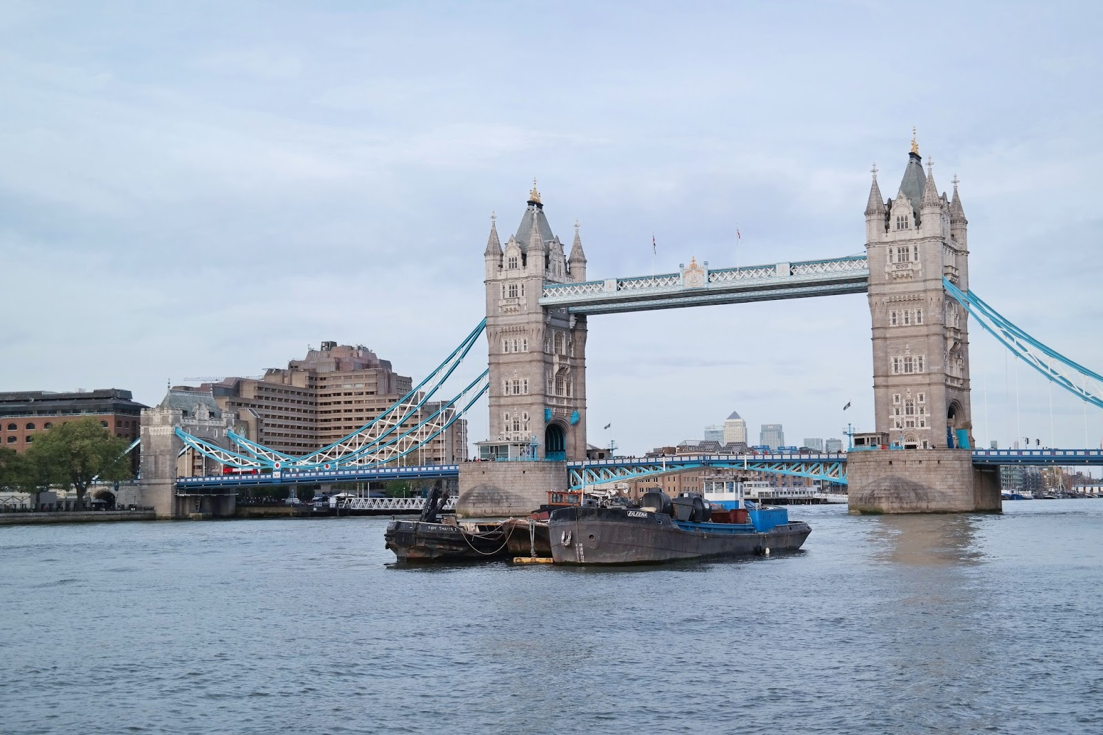London Ankunft / Arrival  – Teil 1