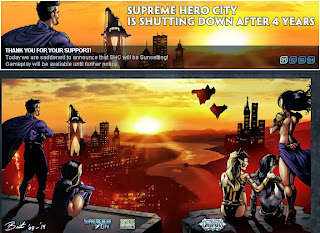 Superhero City closing