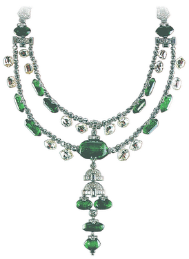 Spanish Inquisition Diamond Necklace