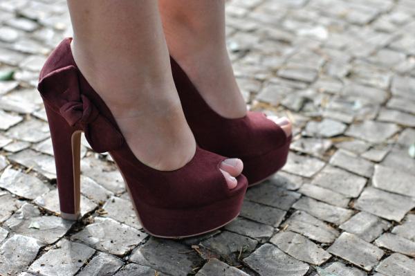 Look, peep toe, Bárbara Krás, laço, sapato, calçado, salto alto