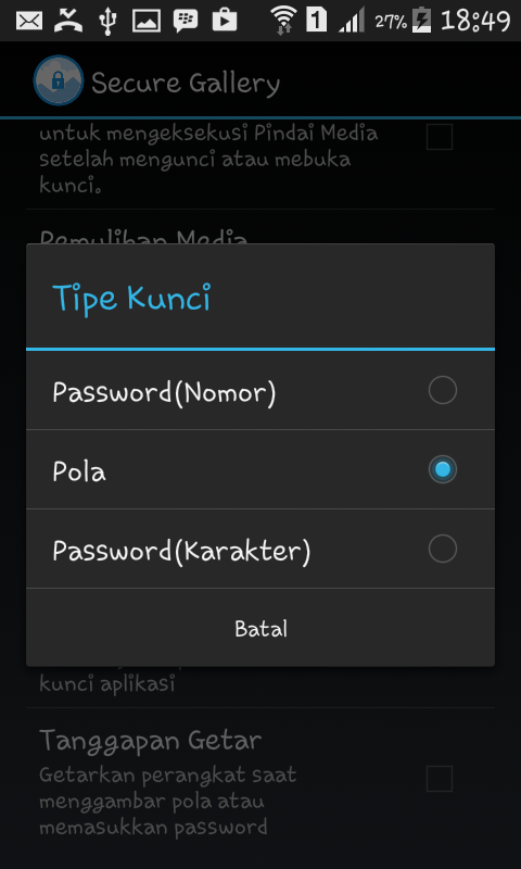Cara Mengganti Pola Password Foto Android