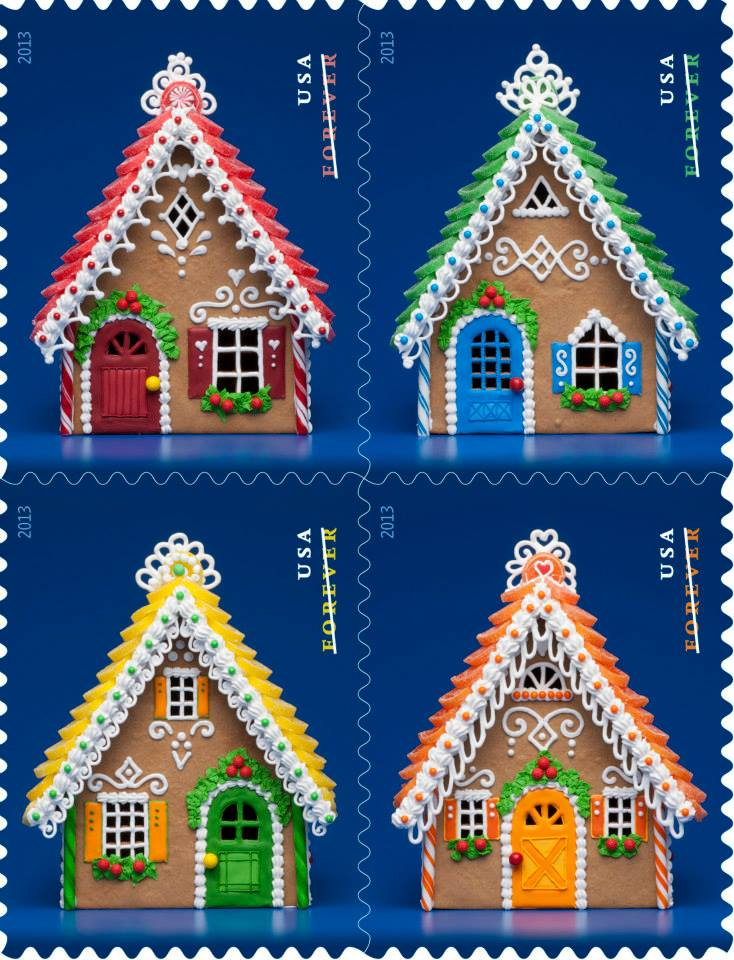 usps has photos posted of their holidaychristmas stamps but this year they are staggering the reveals and stories behind the art dont fret though