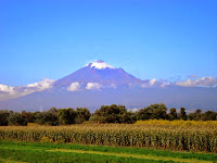Mexico Popocatepetl mount