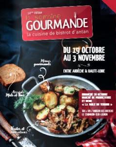 Du 19 octobre au 3 novembre c'est la semaine gourmande !!!