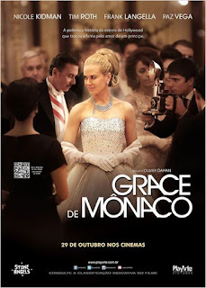 "Poster do filme ""Grace de Mônaco"""