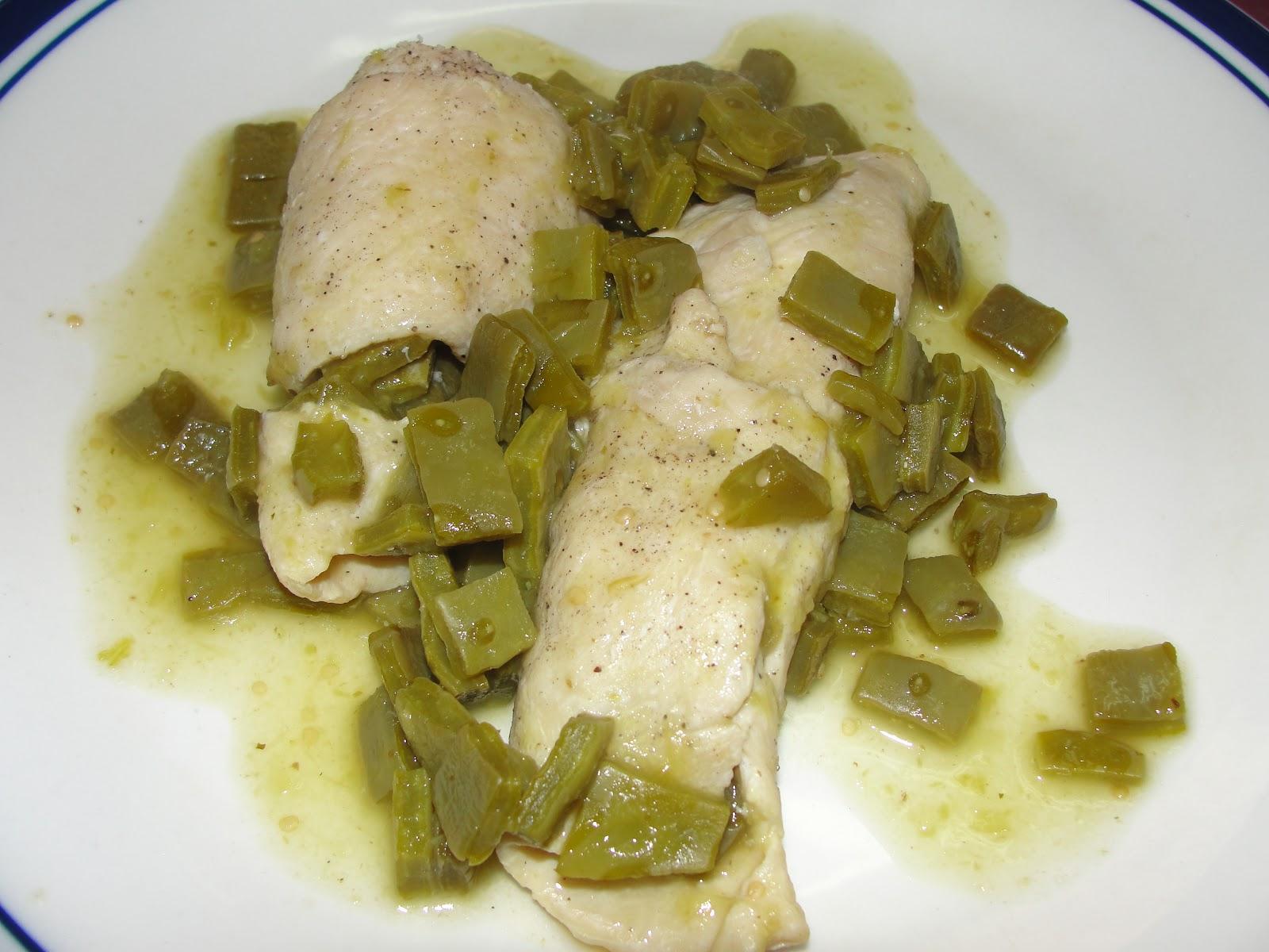 Disfruta cocinar rollo de pollo y nopales for Cocinar nopal
