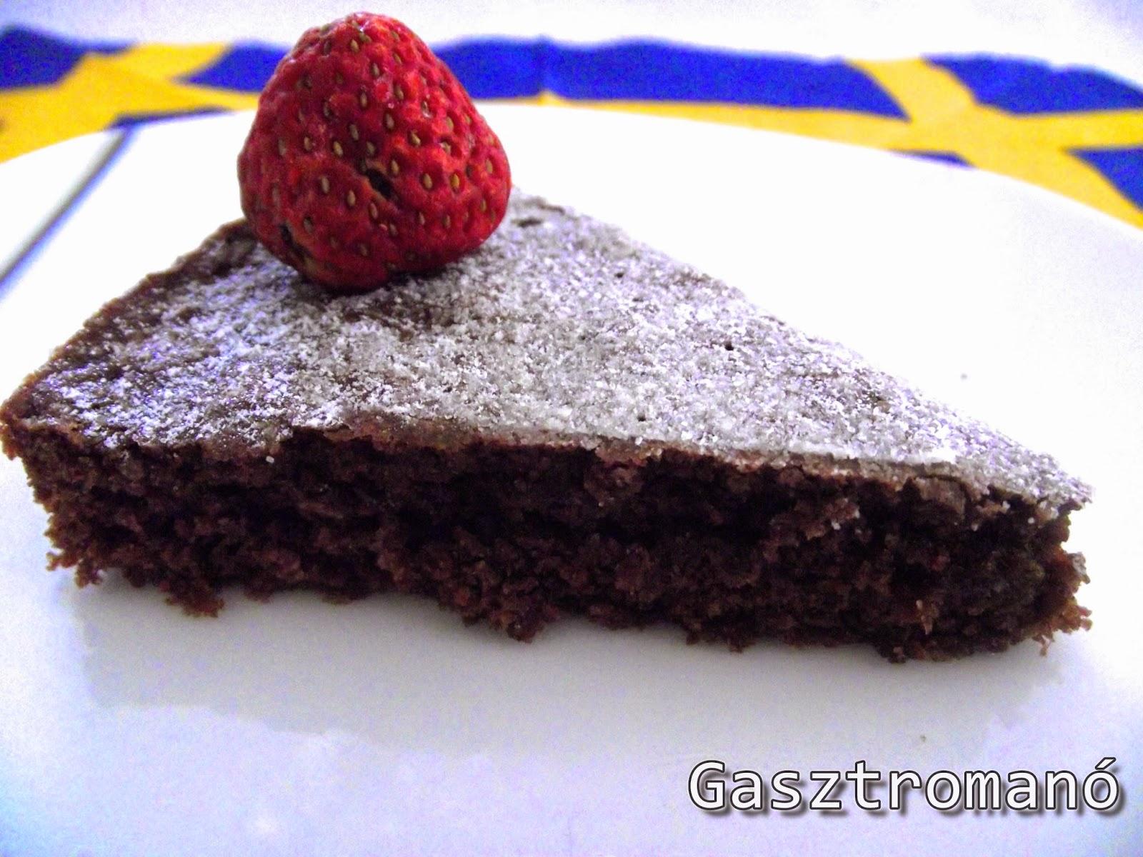 egyszerű gyors csokitorta recept