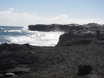 coast at Kalapana, Big Island, Hawaii