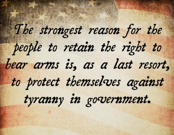 persuasive essays on the right to bear arms