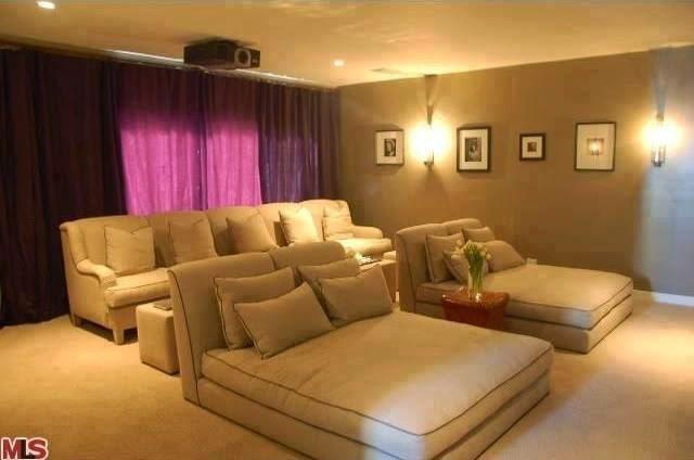 Sala De Tv Com Projetor ~ Ideias para sua sala de TV!