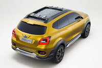 Datsun Go-cross Concept (2015) Rear Side