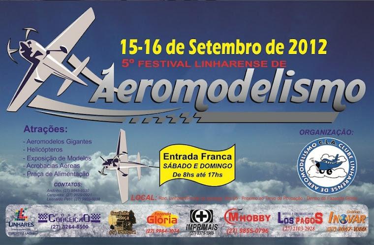 Venha participar do nosso 5º Festival de Aeromodelismo