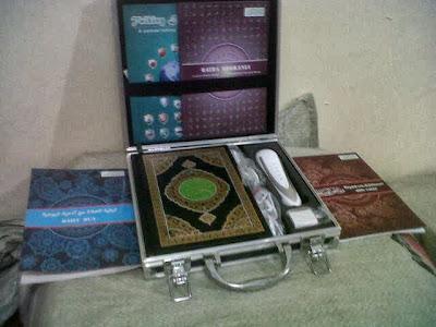 Pen Quran Digital Focus 1 Cover Besi Istimewa