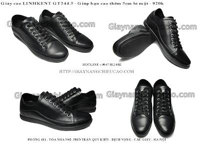 Những mẫu giày nam Linhkent trẻ trung mới nhất - cùng chàng đón năm mới 2013