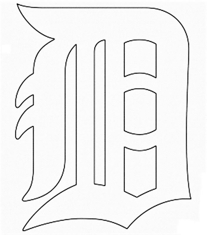 Único Logotipo De Detroit Tigers Para Colorear Inspiración - Dibujos ...