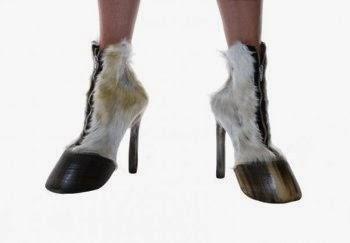 Des chaussures animaux morts modèle 1
