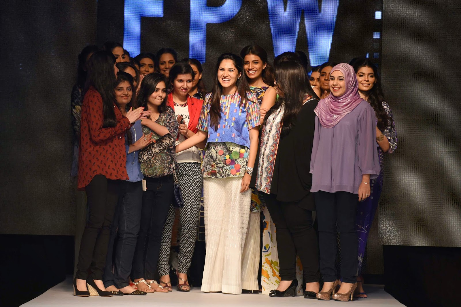 sania maskatiya and her team TFPW15