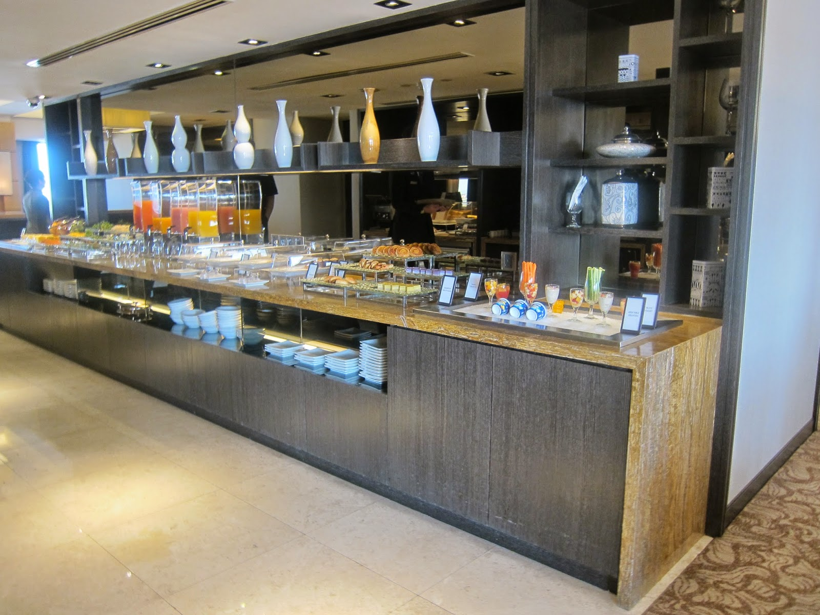 Hilton PJ Breakfast Buffet