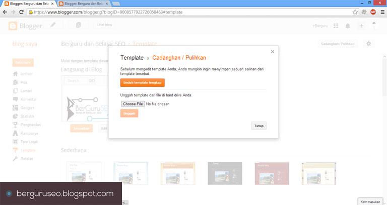 Cara Desain Template Blog dengan Pagination gambar 1
