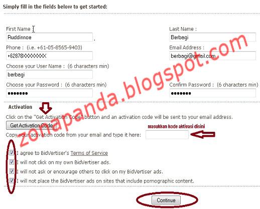 Cara Mendapatkan Uang Online dengan Mendaftar di Bidvertiser