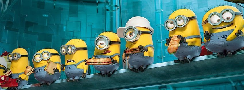 Couverture facebook minions