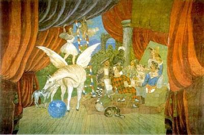"""El telón de """"Parade"""" de Picasso"""