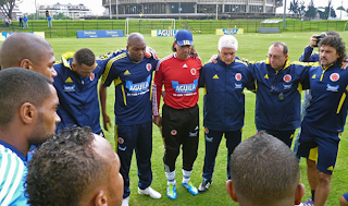 Colombia realizó su primera práctica en Bogotá