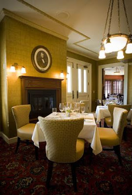Another view of the Forepaugh's Restaurant dining area which is said to be haunted by the ghost of Joseph Forepaugh the former owner