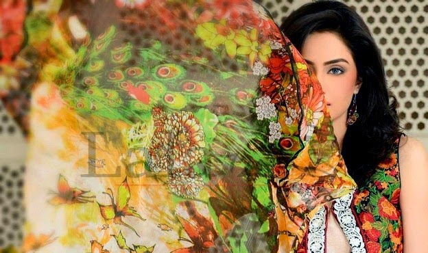 Sana Samia Summer Dresses Collection 2014