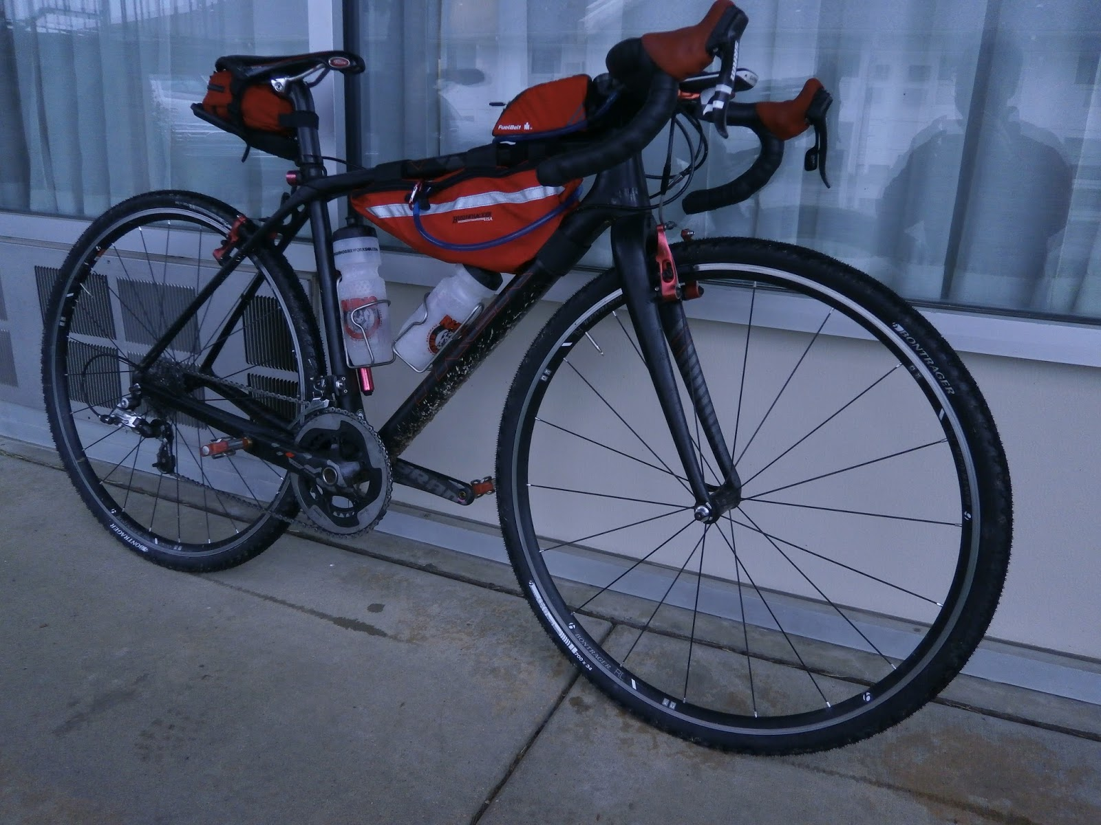 Pedaling Squares: If You\'re Going to Race the Kanza: equipment for DK200