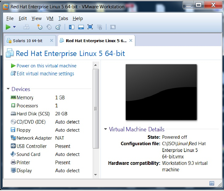 redhat linux machine