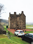 This is Forter Castle, Glenisla, Angus.