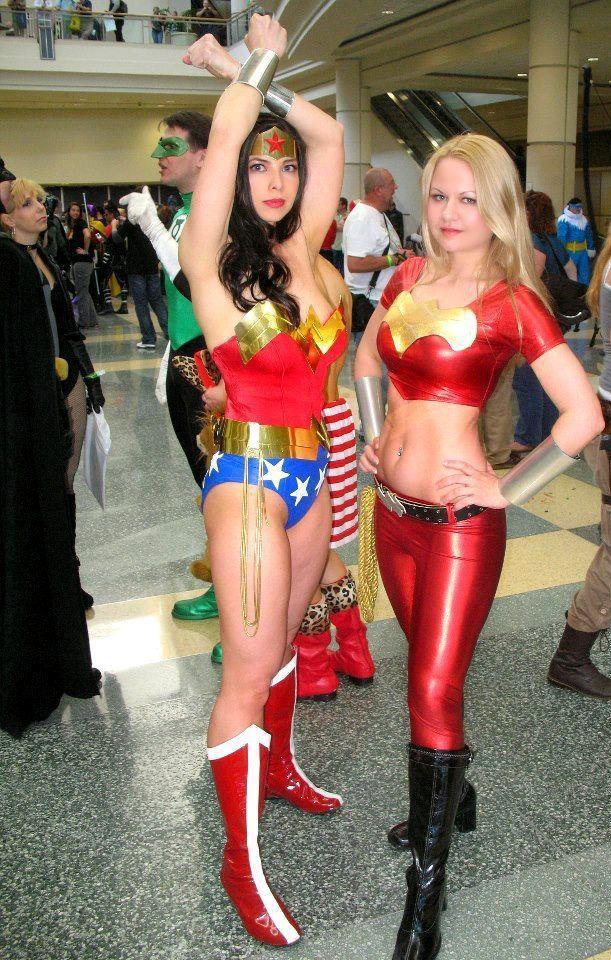 Wonder Woman (Margie Cox and Alisa Farrington)
