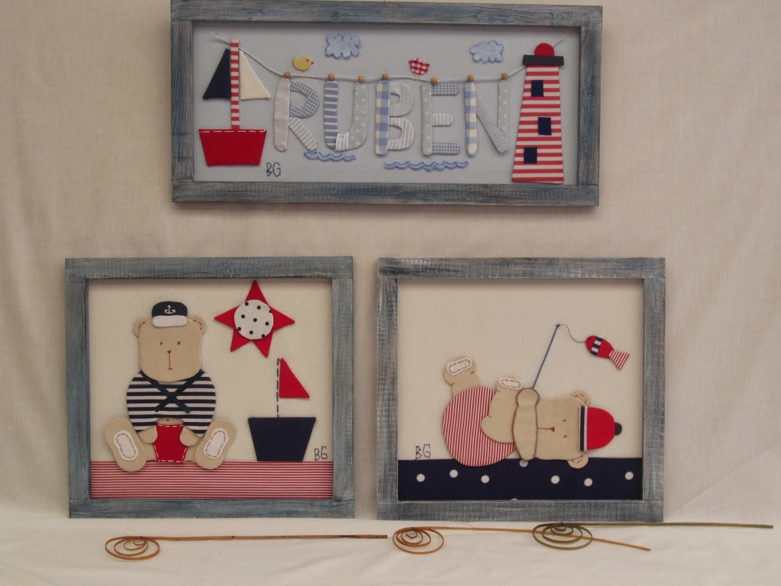 Begotelas cuadros infantiles de ositos - Motivos infantiles para decorar ...