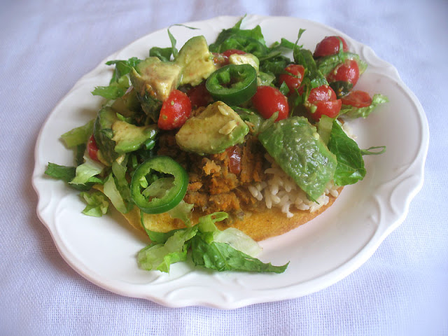 Mexican-Style Mung Bean Tostadas