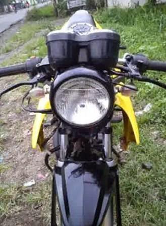 Modifikasi Honda Tiger 2012 Tampil Lebih Strong