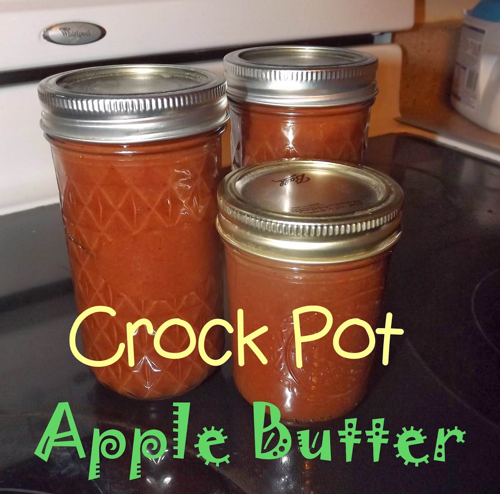 Keeping Up With The Pruetts: Recipe-Crock Pot Apple Butter