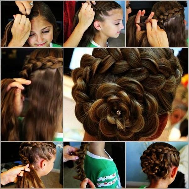Women Hair Style Tutorials #24..