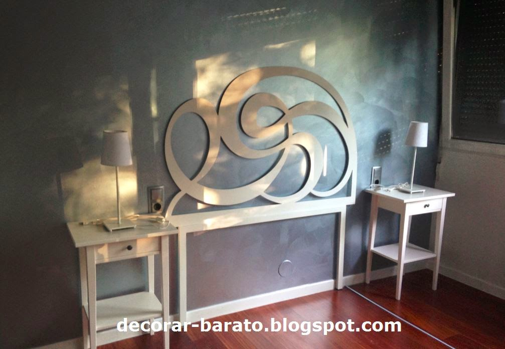Decorar barato pintura metalizada - Decorar salon barato ...
