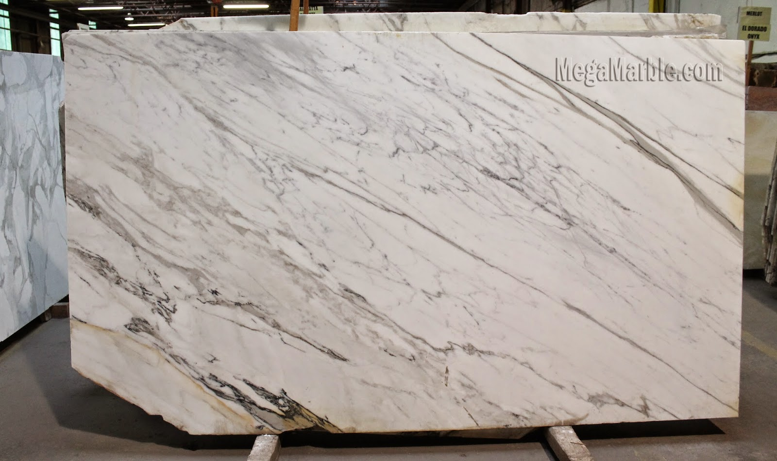 Calacatta White Marble Slabs in New York