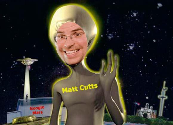 Мэтт Каттс на Марсе