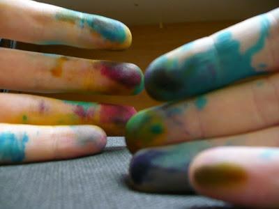 refill ink cartridges hands