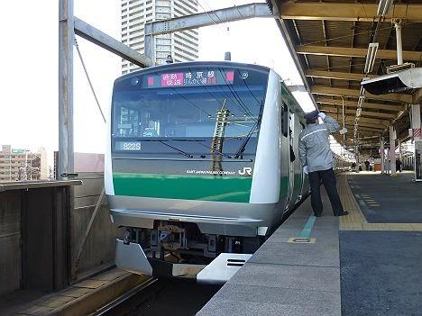 埼京線 通勤快速 新木場行き E233系