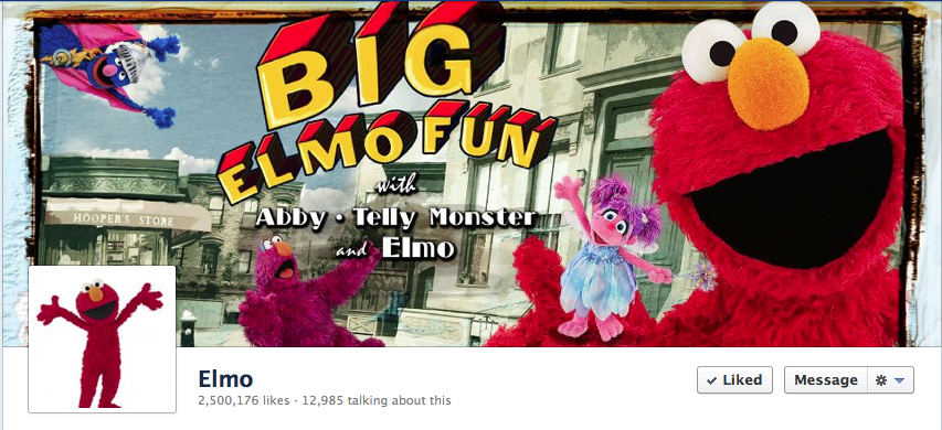 Diana Leto Designs Having Fun With Big Elmo Fun