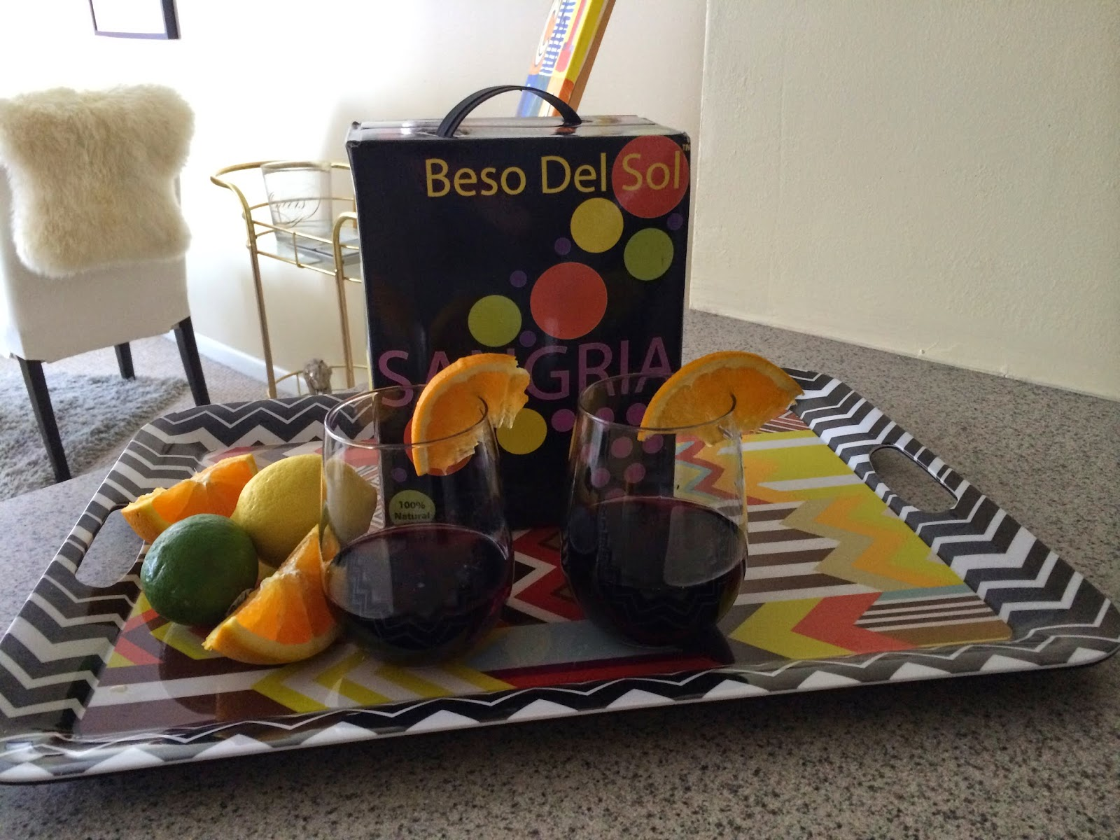 Baked Feta - Tasty Tuesday - Beso Del Sol Sangria